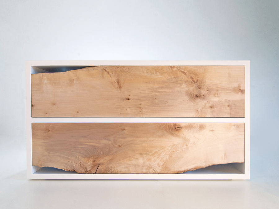 Peter Kindt's Waney Edge Chest of Drawers.
