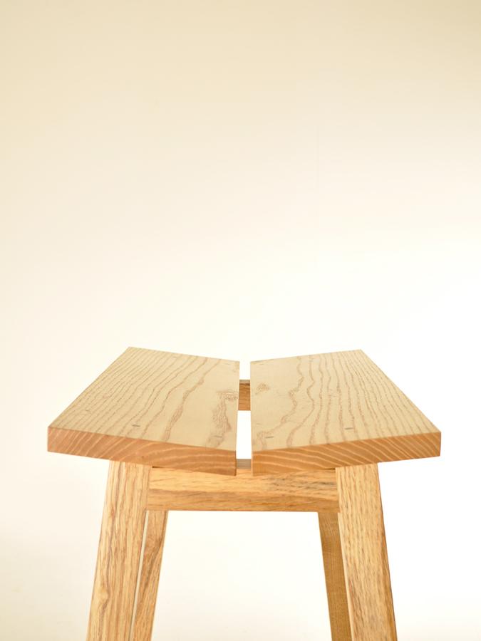 John Nolan's Ash and Oak stool