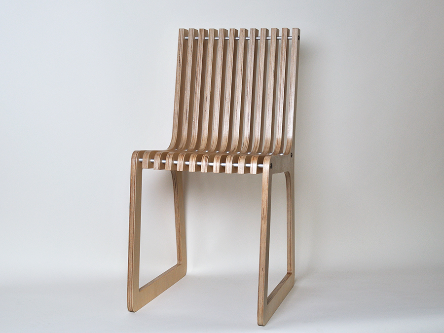 William Chester's Birch Ply chair