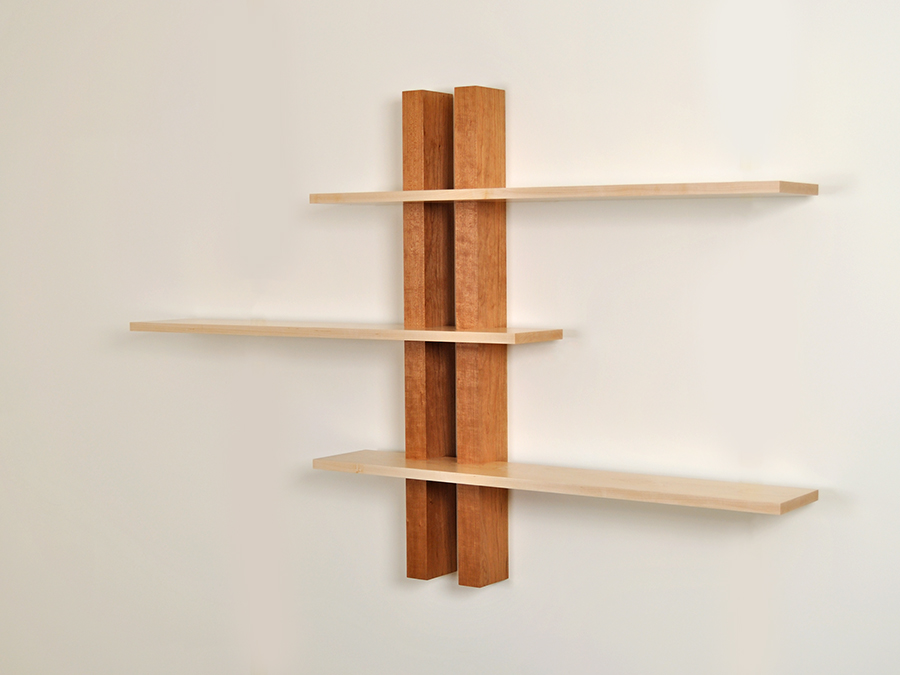 Chris Sleigh's adjustable shelving.
