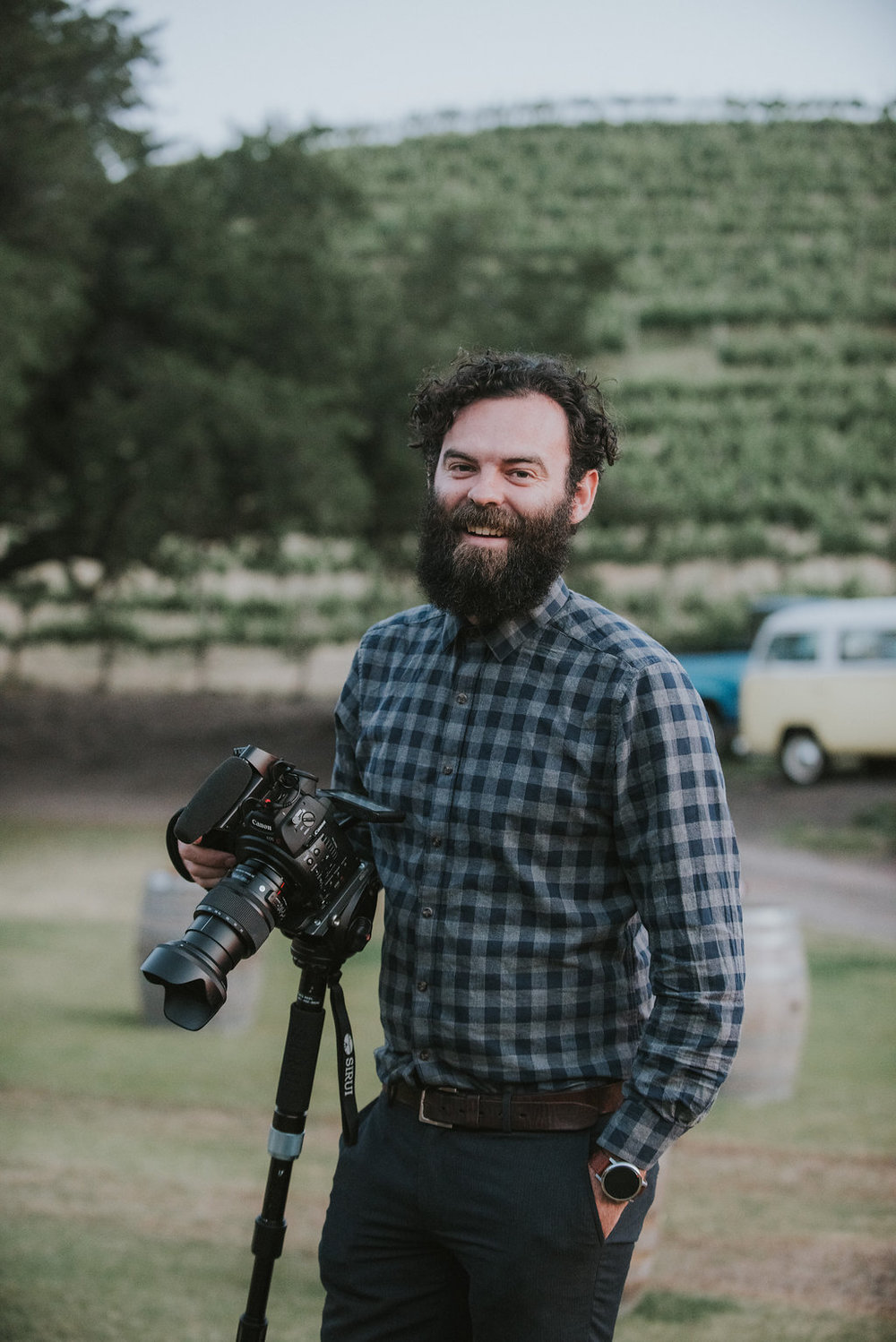 Weston Reel - our videographer extraordinaire!