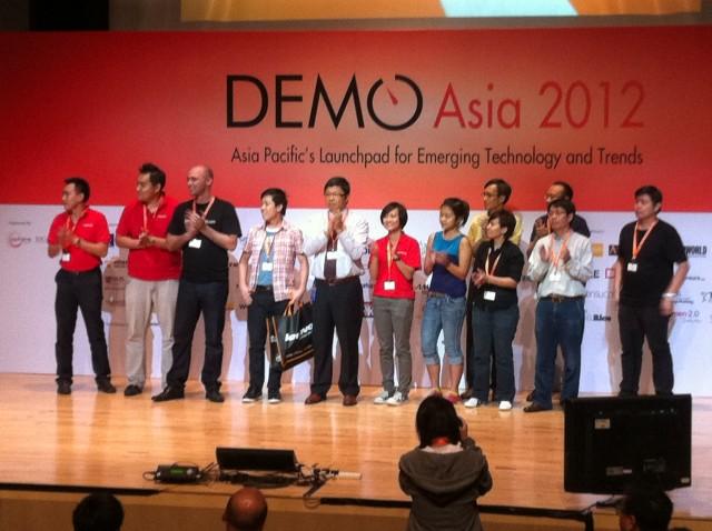 DEMO Asia 2012 DEMOguru Award winners