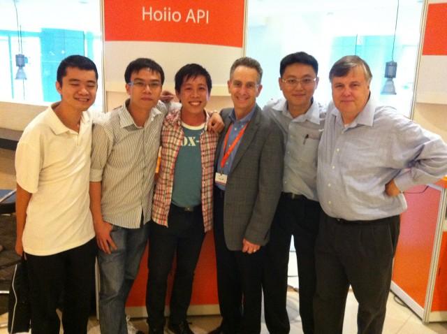 Hoiio API People's Choice Award winner at DEMO Asia 2012