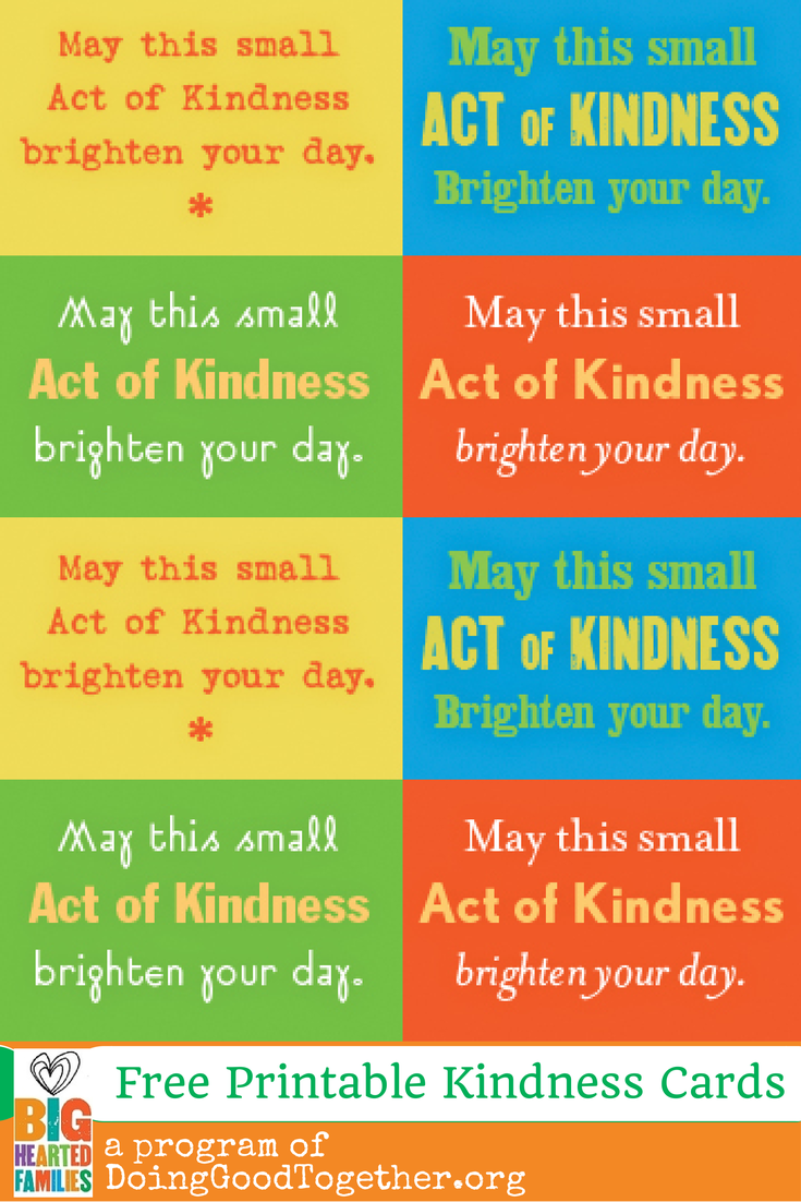 Fun Kindness Ideas