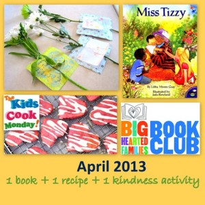 1 book + 1 recipe + 1 kindness activity