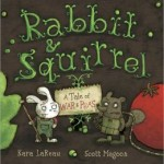 rabbit and squirrel and tale of war and peas