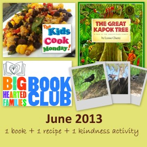 June 2013 book club - kapok tree