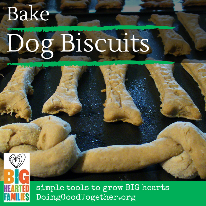 Make Dog Biscuits