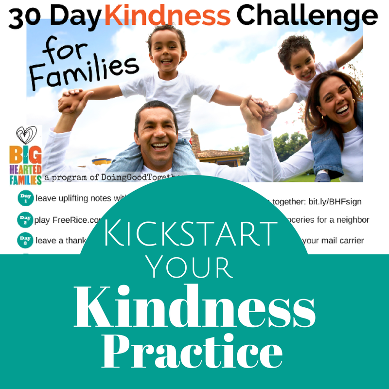 Kickstart your Kindness Practice, #30days