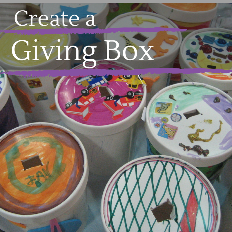 Create a Giving Box