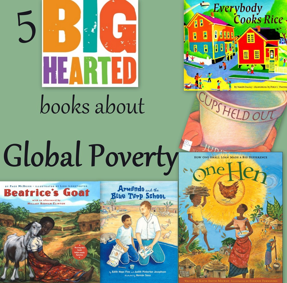 BIg-Hearted Books about Global Poverty from the Big-Hearted Families Program of DoingGoodTogether.org
