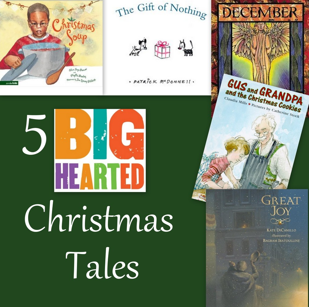 5 holiday stories with discussion questions.