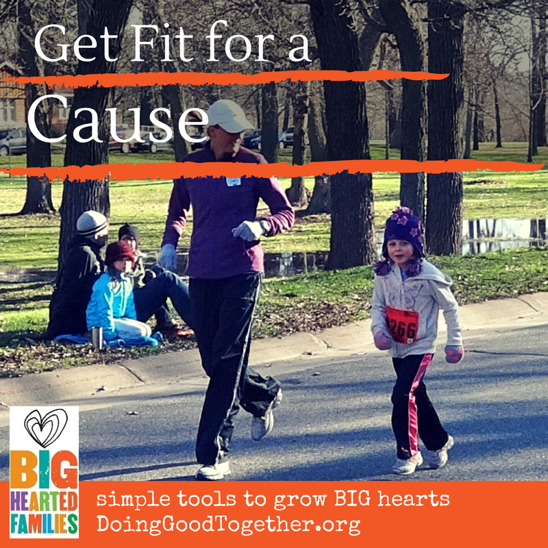 Run, walk, or bike for a cause with these project ideas, book suggestions, and discussion questions