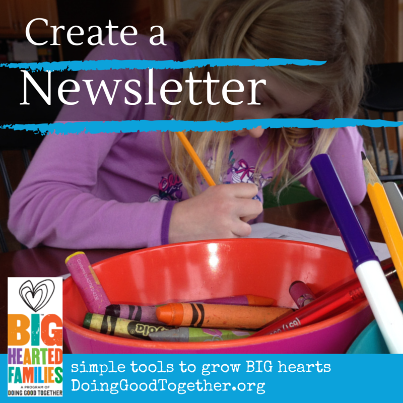 Create a Newsletter
