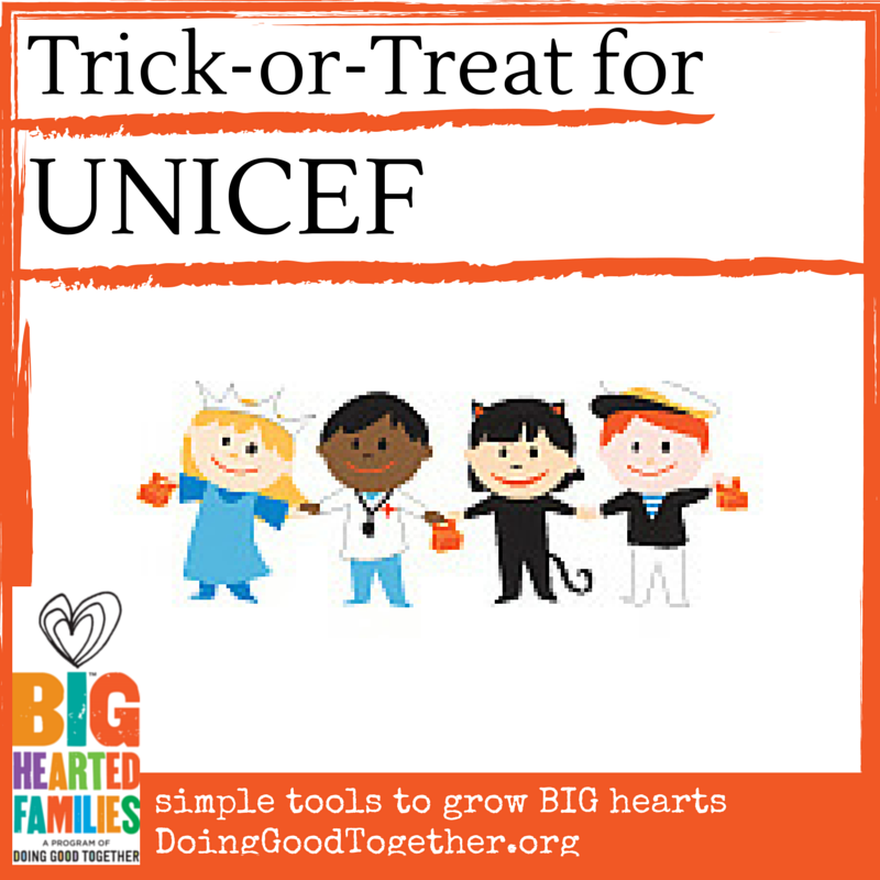 Add heart to Halloween by participating in UNICEF's Halloween drive!