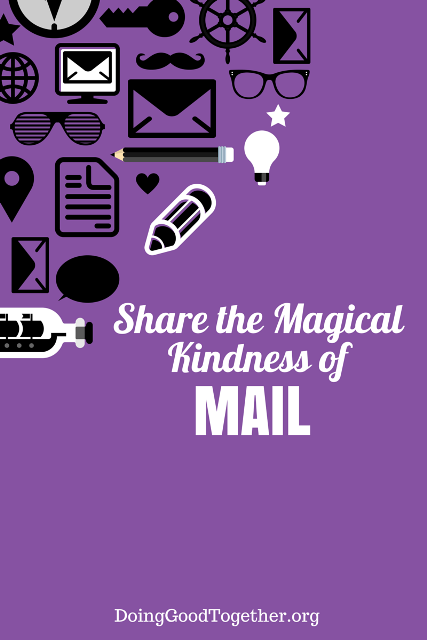 Send kindness through the mail with these printables and easy-to-follow instructions. Your family kindness practice has never been easier. DoingGoodTogether.org