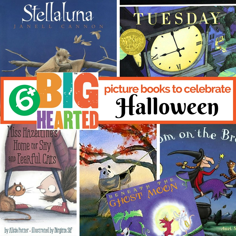 Picture Books to Celebrate Halloween