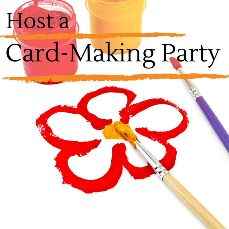 Host a Greeting Card Party