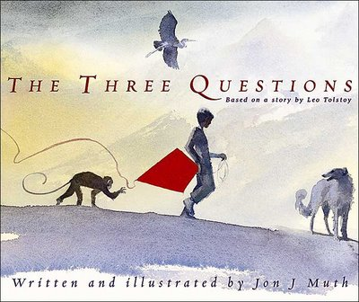 The Three Questions - a mindful picture book recommendation from DoingGoodTogether.org