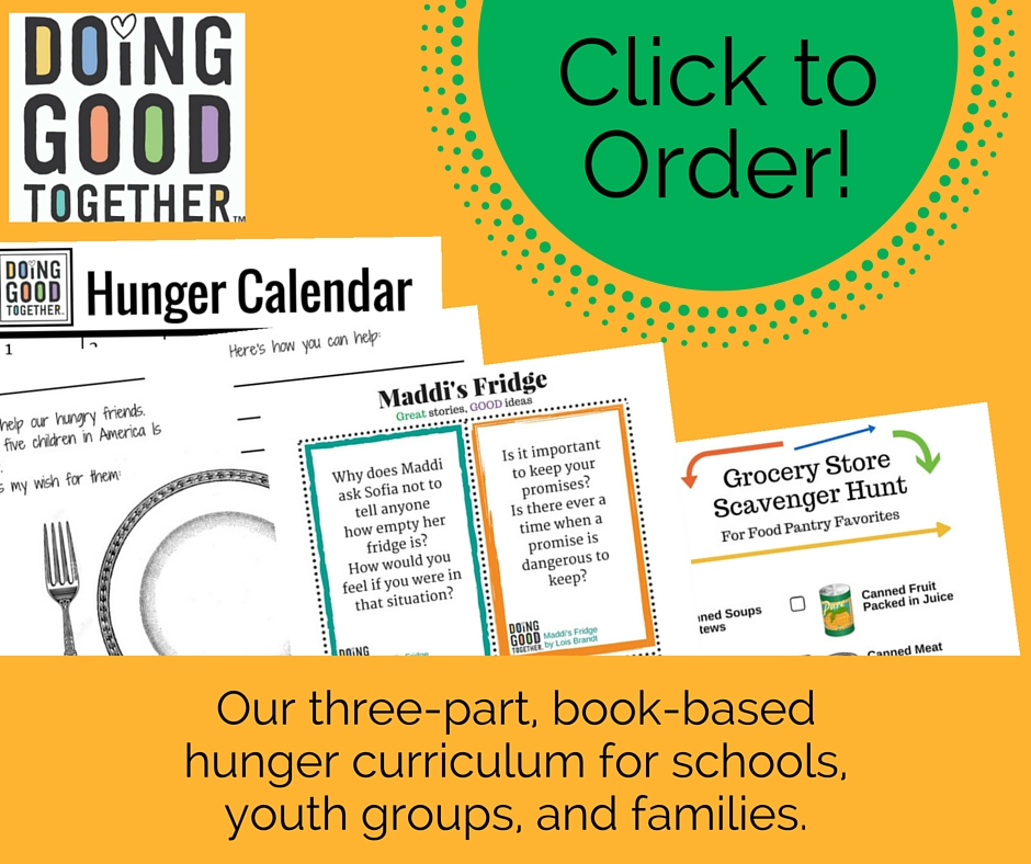 Featuring fun activities to engage children in the complicated issue of hunger.