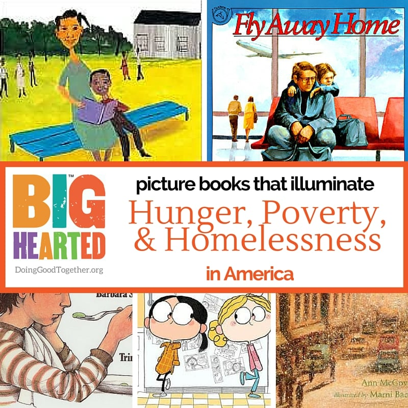 A growing list of picture books to teach empathy for those who hunger