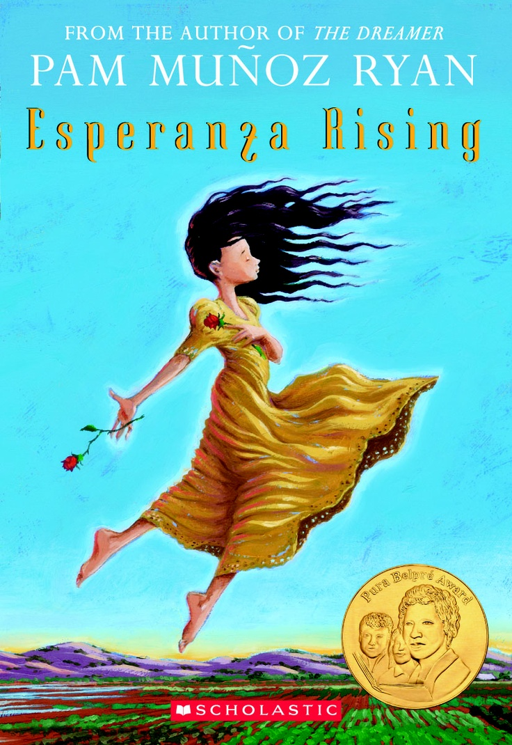 Esperanza Rising - part of a growing list of chapter books about hunger, poverty, and homelessness