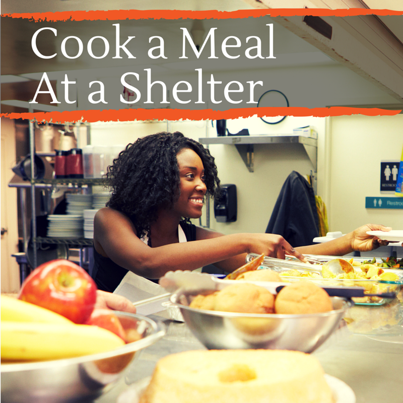 Cook a Meal at a Shelter