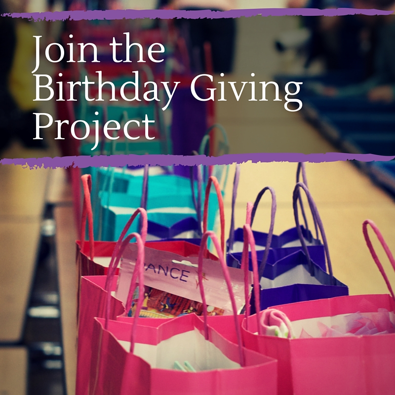 Join the Birthday Giving Project