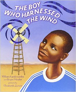 The boy who harnessed the wind - part of a growing list of books to inspire environmental advocates