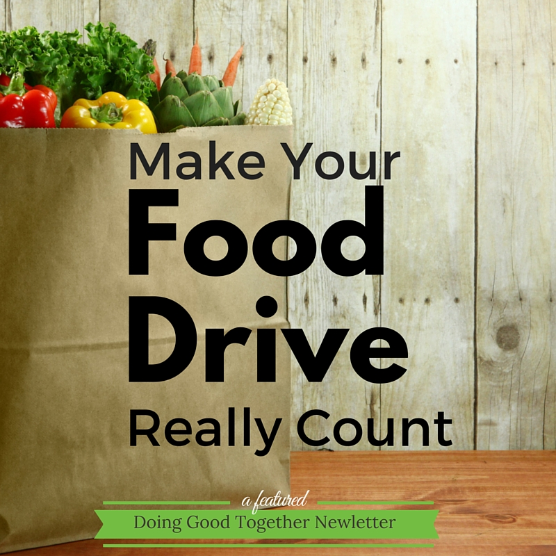 Make Your Food Drive Really Count