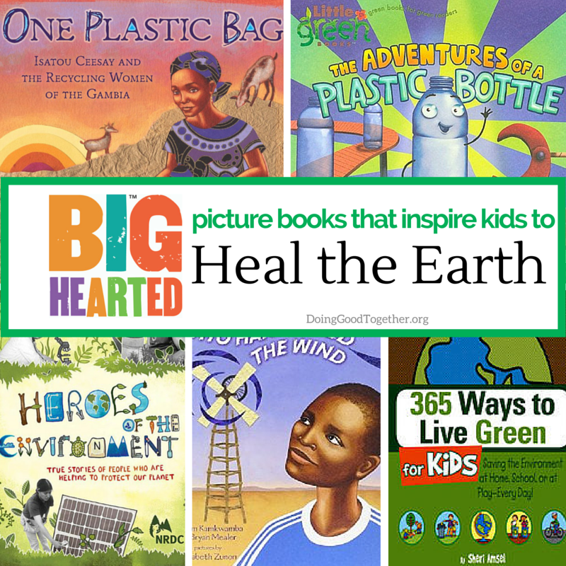A growing list of inspiring picture books to inspire green acts of kindness.
