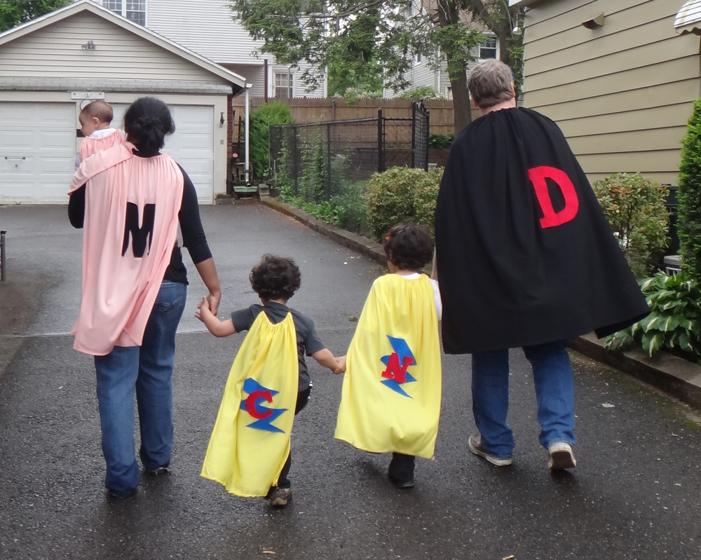 Your family can be among the many big-hearted superheroes promoting kindness, caring, and generous giving. (Capes are optional!)