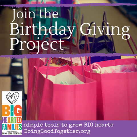 Give the gift of a happy birthday to a child in need.