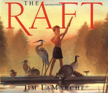 The Raft - Part of a growing list of book to inpire young nature enthusiasts