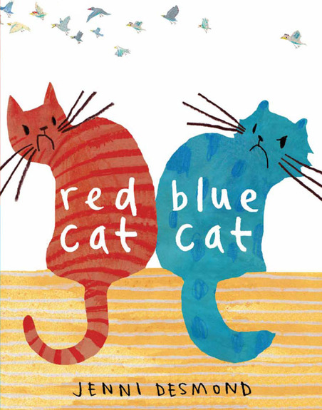 Red Cat, Blue Cat - part of a growing list of books promoting emotional awareness
