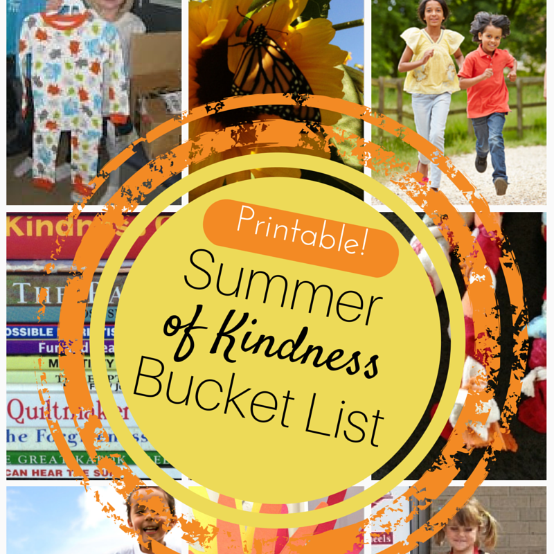 Summer of kindness bucket list printable.png