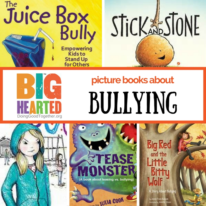 A Growing List Of Picture Books About Bullies Bystanders And Being