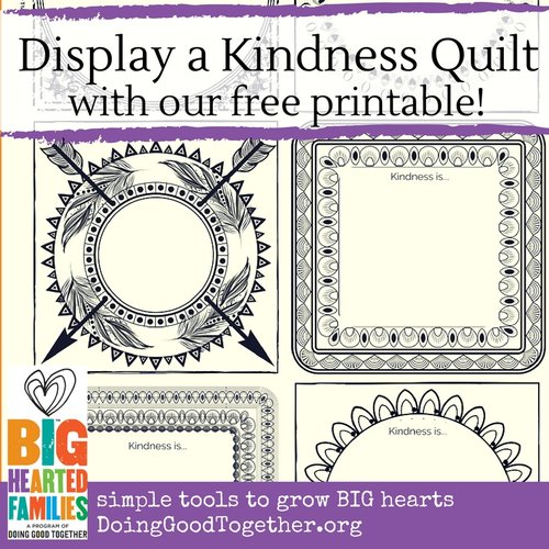 Display a Kindness Quilt — Doing Good Together™ : kindness quilt - Adamdwight.com