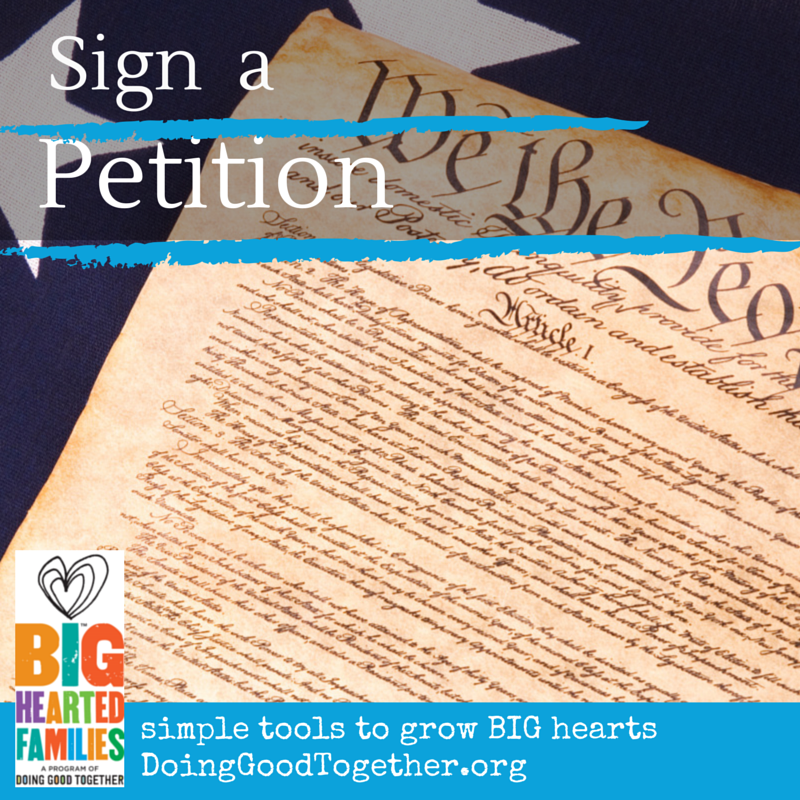 Sign A Petition