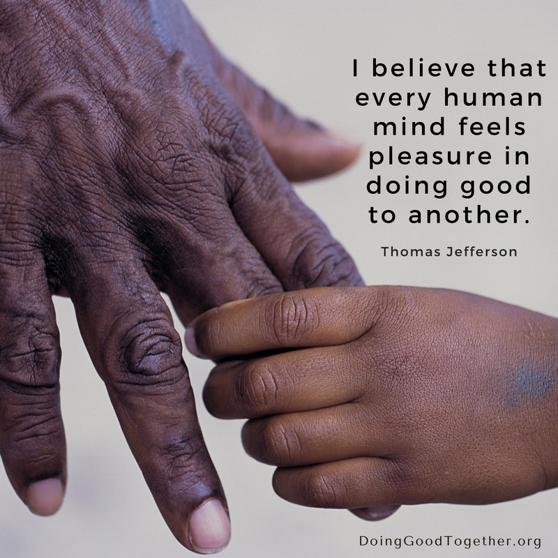 Do good, together. DoingGoodTogether.org