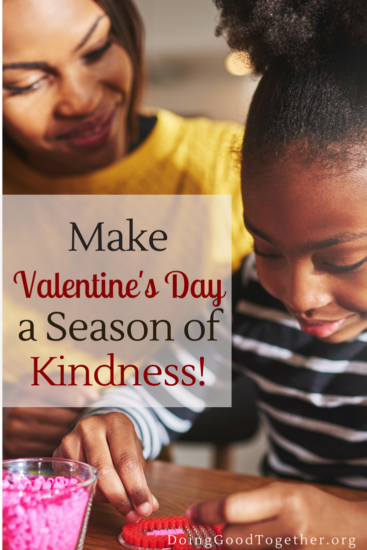 Share the love with family acts of generosity from the kindness experts at the nonprofit - Doing Good Together.