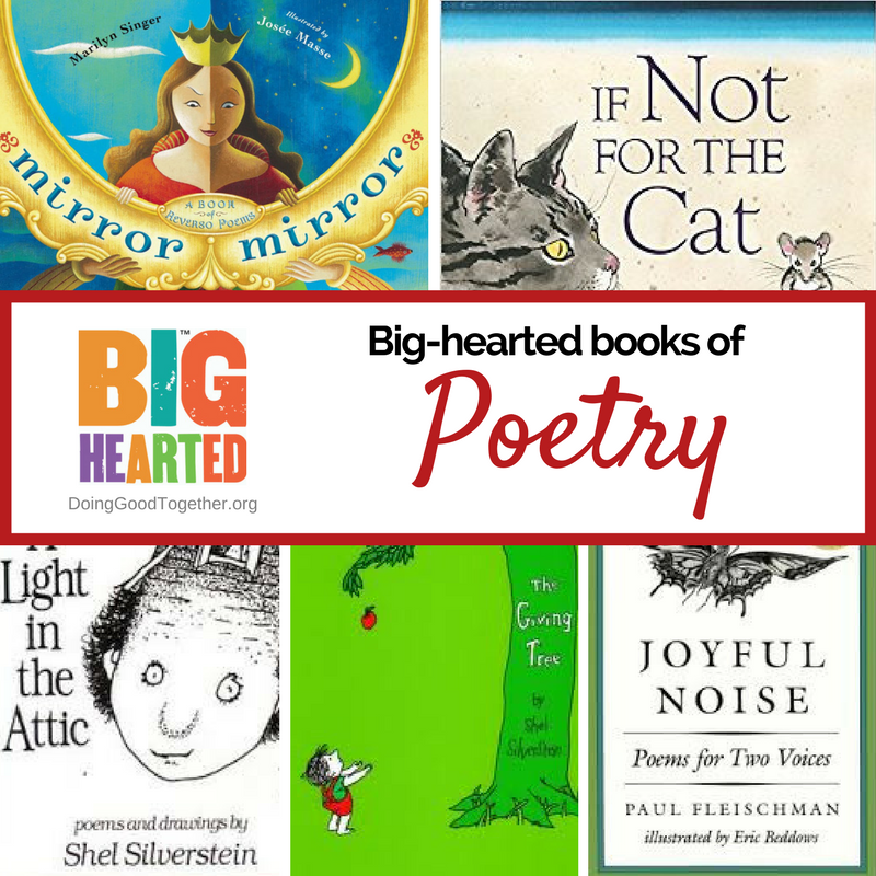 a growing list of picture book poetry from DoingGoodTogether.org