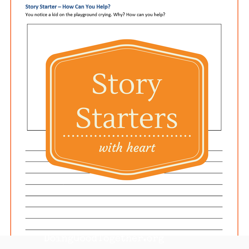 Big-Hearted Story Starters