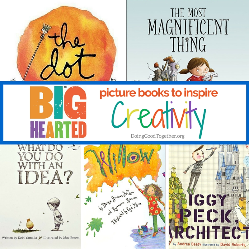 Inspire Creativity with This Growing List of Picture Books