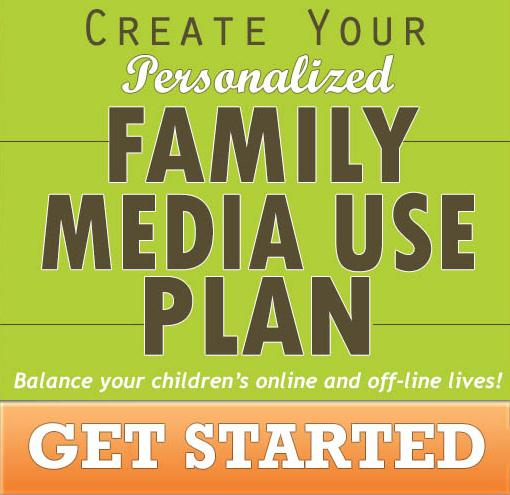 Family Media Use Plan