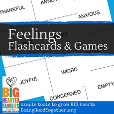 Feelings Flashcards & Games