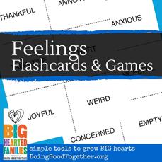 Feelings Flashcards & Games