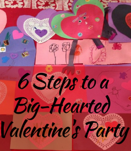6 Steps to a Big-Hearted Valentine's Party