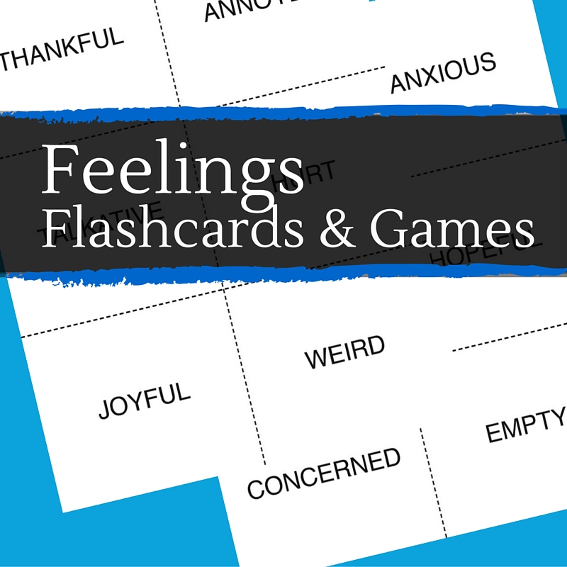 Click to print Doing Good Together's Feelings Flashcards.