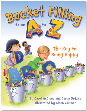 Young readers will enjoy these specific bucket filling ideas.